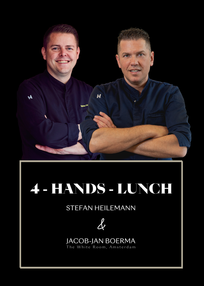 2 Michelin Chefs – 1 Lunch - Heilemann meets Boerma